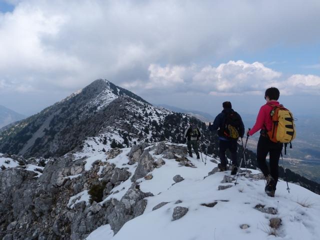Όρη Παραμυθιάς Γκορίλας (1.658μ) 15-03-15)